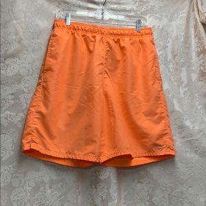 🌈🦄 4/$20Nike Large Orange Short GUC with Pockets